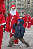 Baby Santa Royalty Free Stock Images