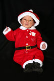 Baby in Santa Suit Royalty Free Stock Photo