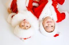 Baby Santas Royalty Free Stock Image