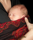 Baby in scarf Royalty Free Stock Photos