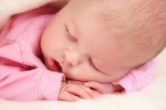 Baby-Schlafen Lizenzfreies Stockbild