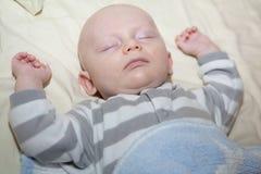 Baby-Schlafen Lizenzfreie Stockfotografie