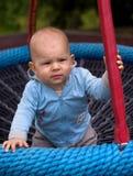 Baby-schommeling Royalty-vrije Stock Afbeelding