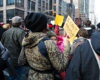 Baby-schwarzer Leben-Angelegenheits-Protest Lizenzfreie Stockbilder