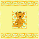 Baby seamless. Bears. Stock Images