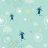 Baby seamless pattern stock photography