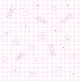 Baby seamless pattern. Cute seamless pattern with little bears Royalty Free Stock Photo