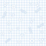 Baby seamless pattern Stock Image