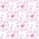 Baby seamless pattern Color pink. Stock Image