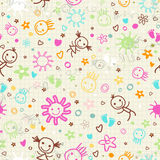 Baby seamless pattern Royalty Free Stock Image