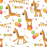 Baby seamless pattern Stock Photo