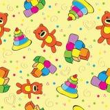 Baby seamless pattern Stock Image