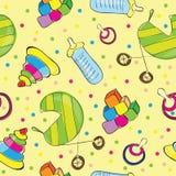 Baby seamless pattern Stock Photo