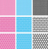 Baby seamless pattern Royalty Free Stock Photos