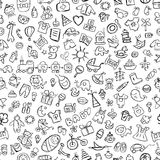 Baby seamless pattern for your design Royalty Free Stock Photos