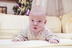 Baby in seiner Freizeit Stockbild