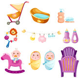 Baby set Stock Photo