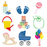 Baby set Stock Photography
