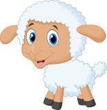 Baby sheep cartoon. Illustration of Baby sheep cartoon Royalty Free Stock Image