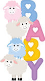 Baby Sheeps Royalty Free Stock Photo