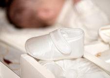 Baby shoe Stock Photo