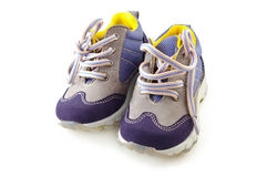 Baby Shoes. Isolated on white background Royalty Free Stock Photo