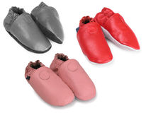 Baby shoes. Stock Image
