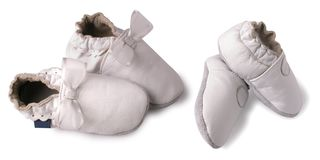 Baby shoes. Stock Images