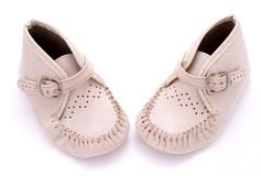 Baby shoes 2 Royalty Free Stock Images