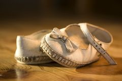 Baby shoes Royalty Free Stock Photo