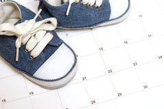 Parenting Schedule Stock Photos