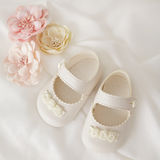 Baby shoes. Close-up of baby shoes Stock Image