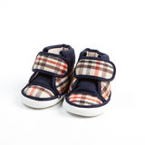 Baby shoes. Isolate on white background Stock Photos