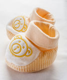 Baby shoes isolated on white background Royalty Free Stock Photography
