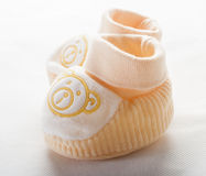 Baby shoes isolated on white background Royalty Free Stock Image