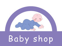 Baby - shop Stock Photos