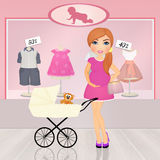 Baby shop Stock Images