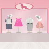 Baby shop Stock Photography
