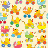 Baby shop pattern. Stock Photography