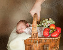 Baby shopping Royalty Free Stock Photo