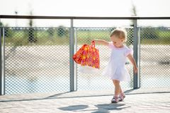 Baby shopping Stock Images