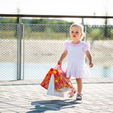 Baby shopping Stock Photography