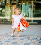 Baby shopping Royalty Free Stock Image