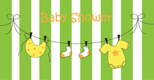 baby shower Arkivbild