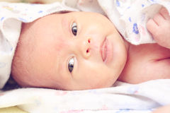 Baby after shower_2 Royalty Free Stock Photo