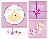 baby shower Royaltyfria Bilder