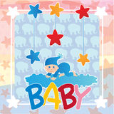 baby shower Royaltyfri Fotografi