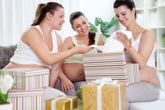 Baby shower Royaltyfri Foto