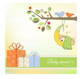 Baby shower announcement Stock Photo