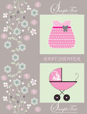 Baby Shower Announcement Royalty Free Stock Photography